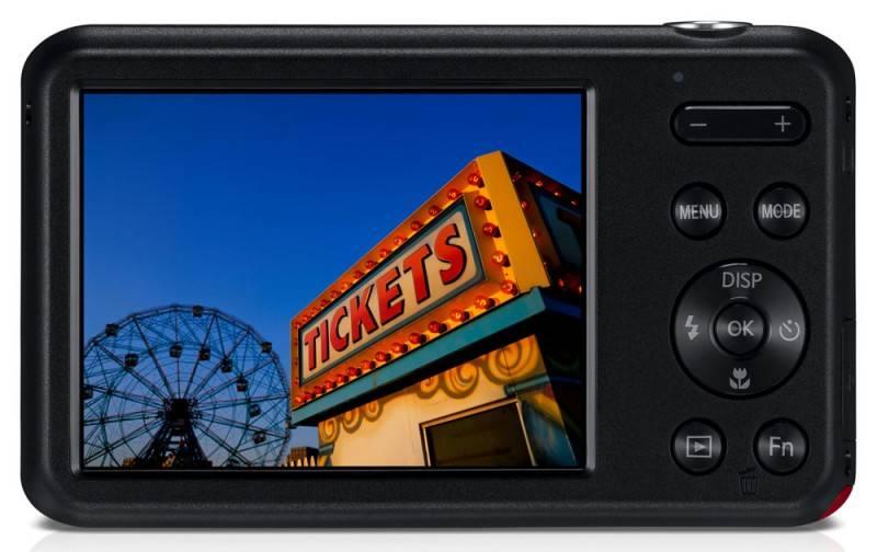Фотоаппарат Samsung ES95 красный - фото 6