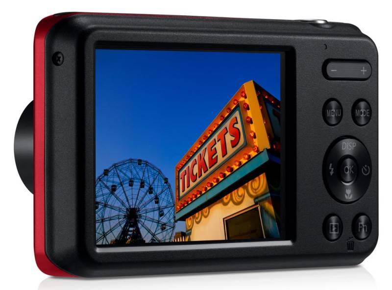 Фотоаппарат Samsung ES95 красный - фото 7