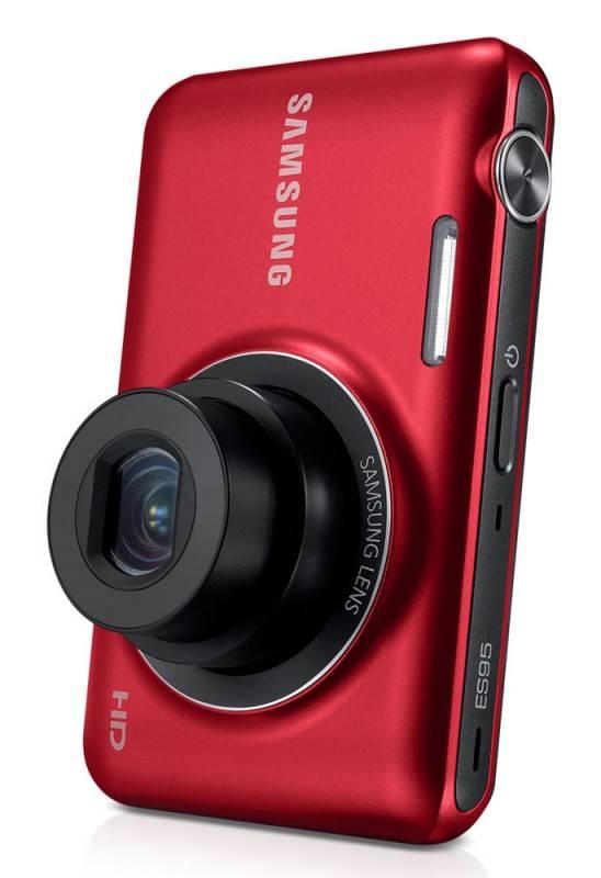 Фотоаппарат Samsung ES95 красный - фото 9