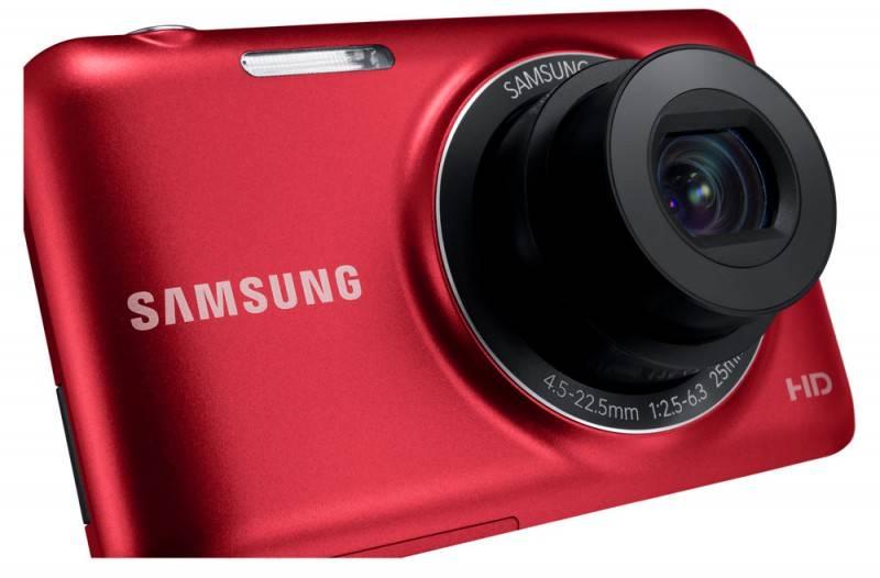 Фотоаппарат Samsung ES95 красный - фото 10