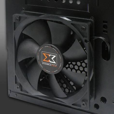 Корпус ATX Xigmatek Asgard RF черный - фото 16