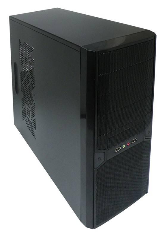 Корпус ATX Xigmatek Asgard RF черный - фото 1