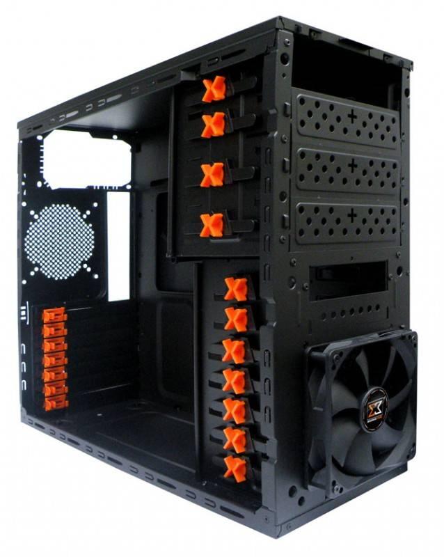 Корпус ATX Xigmatek Asgard RF черный - фото 8