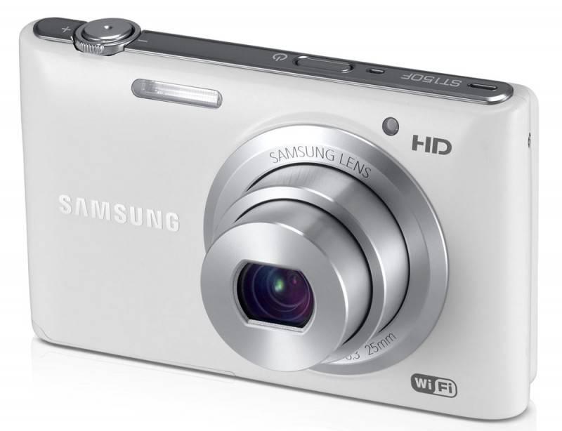 Фотоаппарат Samsung ST150F белый - фото 2