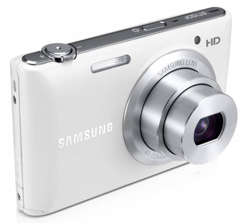 Фотоаппарат Samsung ST150F белый - фото 3