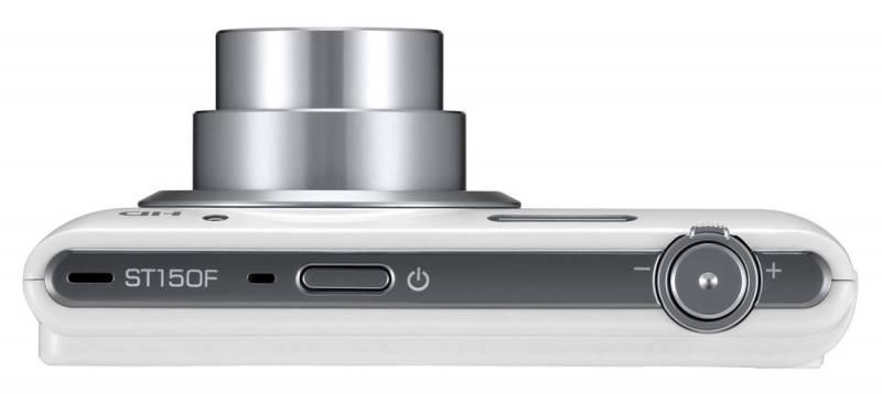 Фотоаппарат Samsung ST150F белый - фото 6