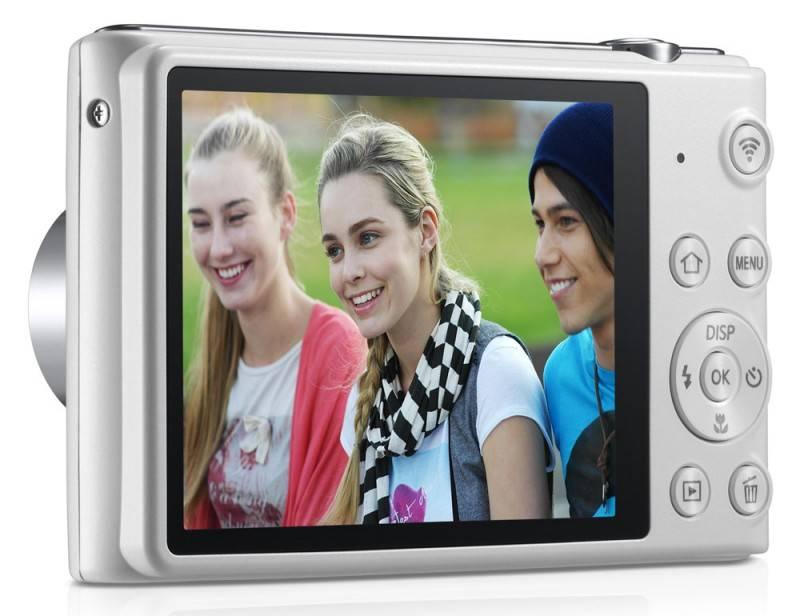Фотоаппарат Samsung ST150F белый - фото 7