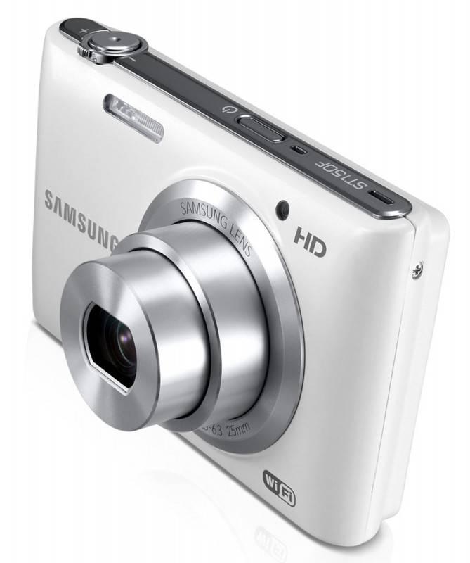 Фотоаппарат Samsung ST150F белый - фото 9