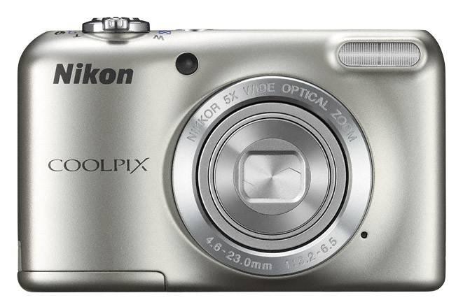 Фотоаппарат Nikon CoolPix L27 серебристый - фото 1