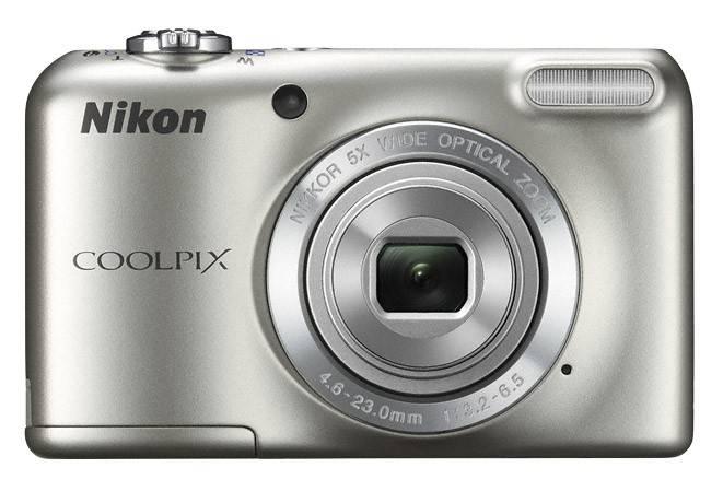 Фотоаппарат Nikon CoolPix L27 серебристый - фото 2