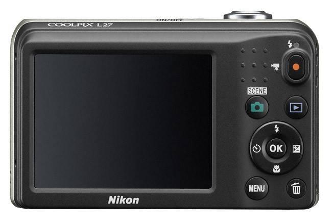 Фотоаппарат Nikon CoolPix L27 серебристый - фото 3