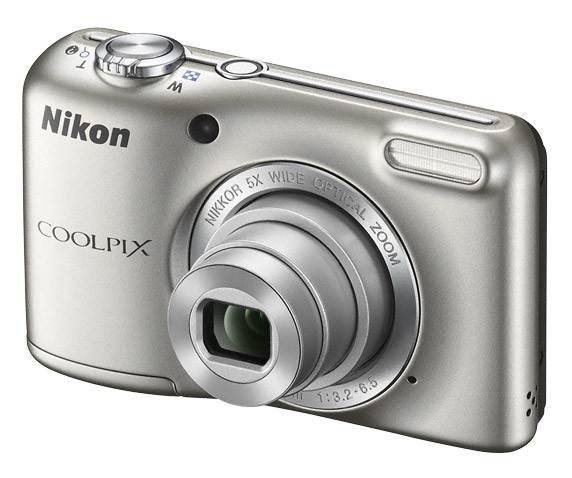 Фотоаппарат Nikon CoolPix L27 серебристый - фото 4