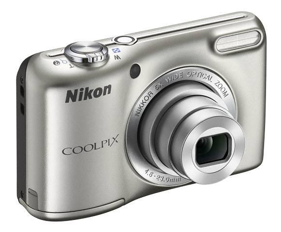 Фотоаппарат Nikon CoolPix L27 серебристый - фото 5