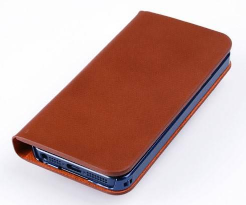 Чехол (флип-кейс) Imymee Classic Leather (I5C53141-BR) коричневый - фото 5