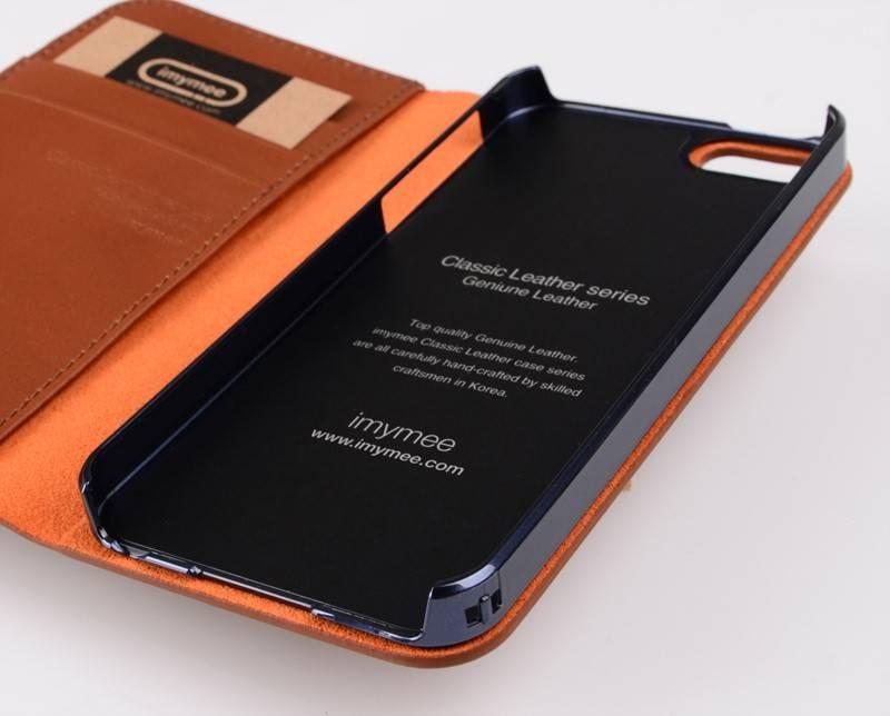 Чехол (флип-кейс) Imymee Classic Leather (I5C53141-BR) коричневый - фото 7
