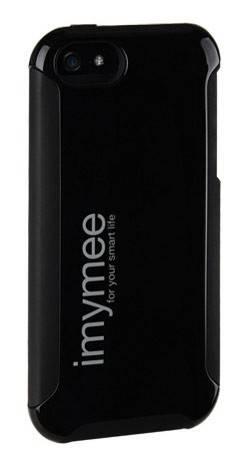 Чехол Imymee LANCER (I5C55151-BK), для Apple iPhone 5, черный (I5C55151-BK) - фото 1
