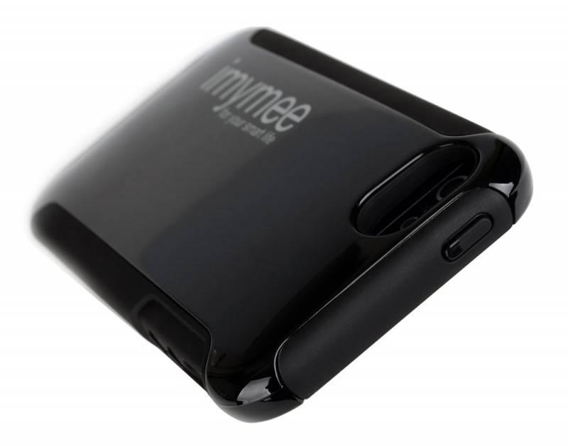 Чехол Imymee LANCER (I5C55151-BK), для Apple iPhone 5, черный (I5C55151-BK) - фото 3