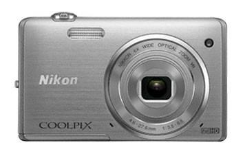 Фотоаппарат Nikon CoolPix S5200 серебристый - фото 1