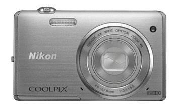 Фотоаппарат Nikon CoolPix S5200 серебристый - фото 2