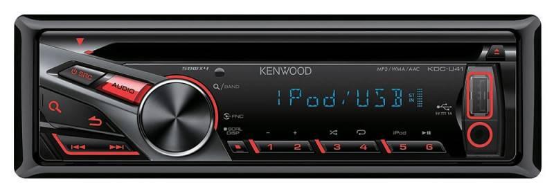 Автомагнитола Kenwood KDC-U41R - фото 1