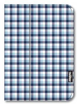 Чехол для планшета Merc fabric folio Check для Apple iPad mini синий / кремовый