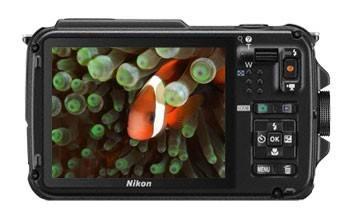 Фотоаппарат Nikon CoolPix AW110 темно-зеленый/коричневый - фото 4