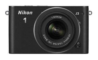 Фотоаппарат Nikon 1 J3 kit черный - фото 1