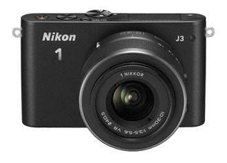 Фотоаппарат Nikon 1 J3 kit черный - фото 3