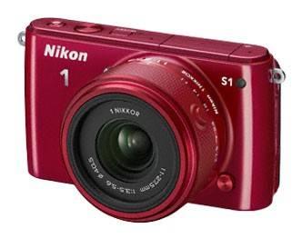 Фотоаппарат Nikon 1 S1 kit красный - фото 1