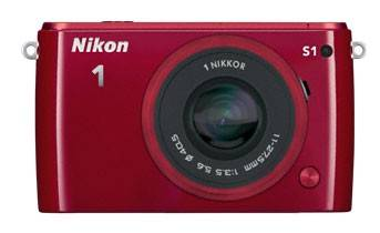 Фотоаппарат Nikon 1 S1 kit красный - фото 2