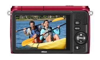 Фотоаппарат Nikon 1 S1 kit красный - фото 3