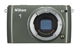 Фотоаппарат Nikon 1 S1 kit зеленый - фото 2