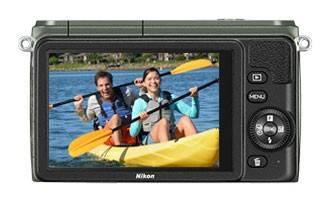 Фотоаппарат Nikon 1 S1 kit зеленый - фото 3