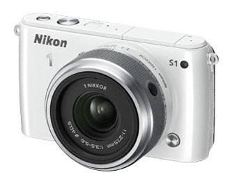Фотоаппарат Nikon 1 S1 kit белый - фото 1