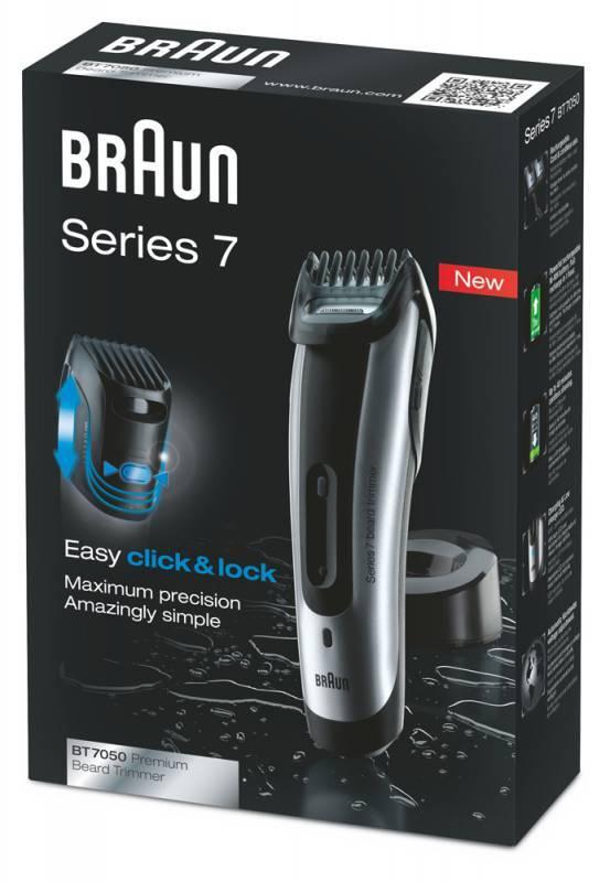 Машинка для стрижки волос Braun BT7050 серебристый - фото 2