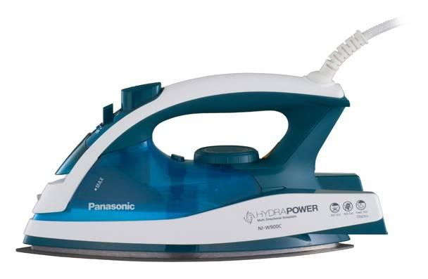 Утюг Panasonic NI-W900CMTW белый/голубой - фото 1