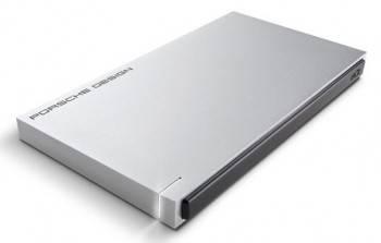 Внешний жесткий диск 500Gb Lacie 9000304 Porsche Design серебристый USB 3.0