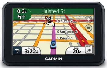 GPS-навигатор Garmin nuvi 140LMT 4.3 черный