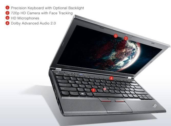 "Ноутбук 12.5"" Lenovo ThinkPad x230 черный - фото 2"