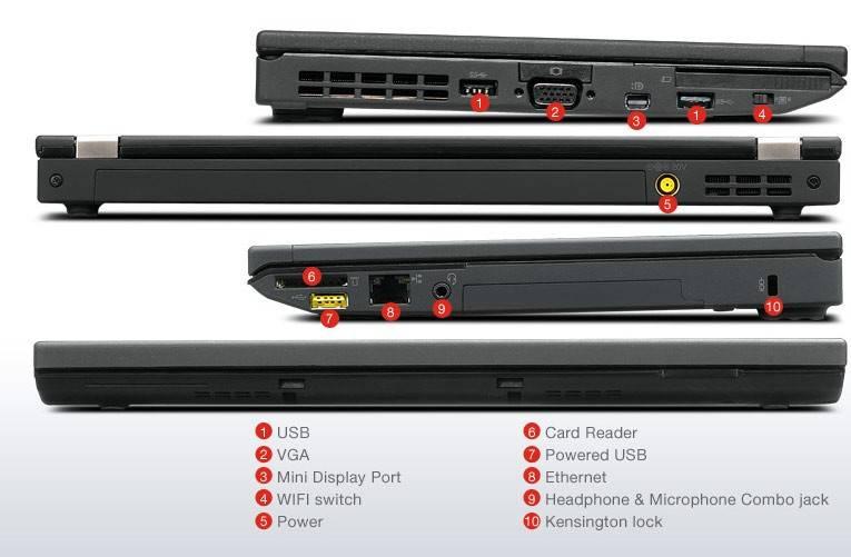 "Ноутбук 12.5"" Lenovo ThinkPad x230 черный - фото 5"