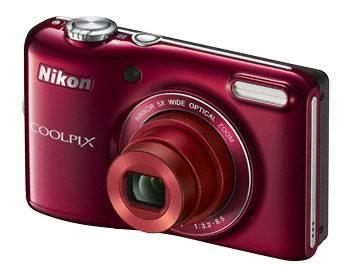 Фотоаппарат Nikon CoolPix L28 красный - фото 3