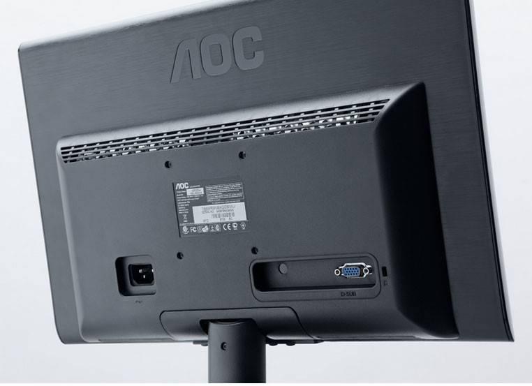 """Монитор 19.5"""" AOC e2050Sw/01 - фото 6"""