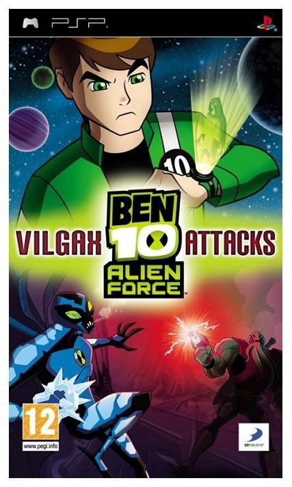 Игра для PSP Ben 10: Alien Force Vilgax Attacks (Essentials) eng - фото 1