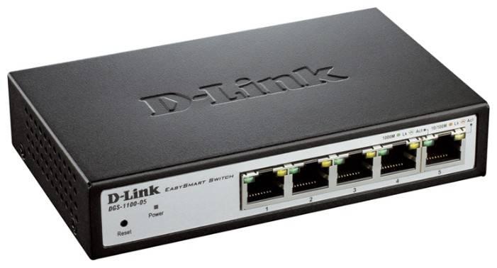 Коммутатор настраиваемый D-Link DGS-1100-05/B1A - фото 2