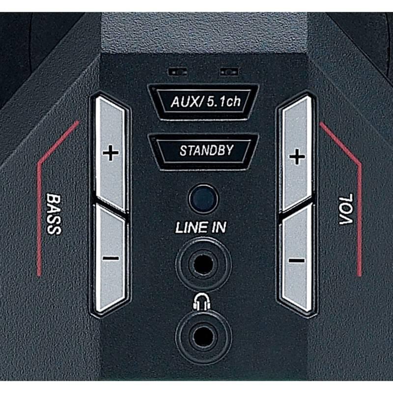 Колонки Genius GX SW-G5.1 3500 черный (31731017100) - фото 5
