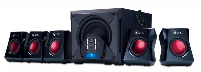 Колонки Genius GX SW-G5.1 3500 черный 5.1 - фото 1