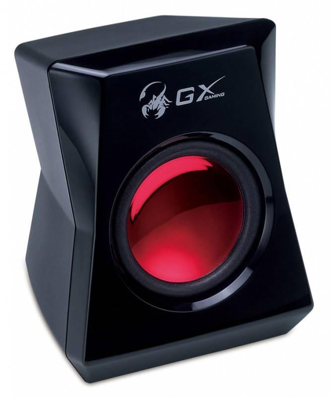 Колонки Genius GX SW-G5.1 3500 черный 5.1 - фото 3