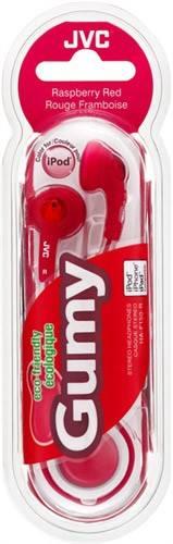 Наушники JVC Gumy красный - фото 2