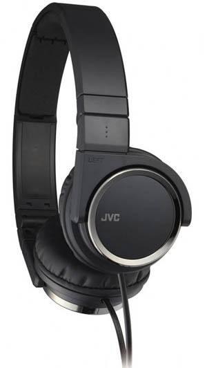 Наушники JVC HA-S400-B-E черный - фото 2