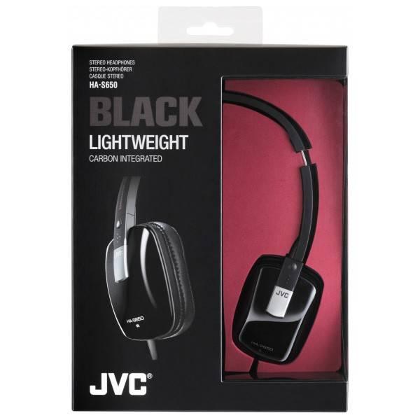 Наушники JVC HA-S650-E черный - фото 3